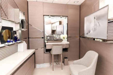 Like in a real beauty institute: Air France inaugurated luxury La Prairie Spa at JFK Lounge