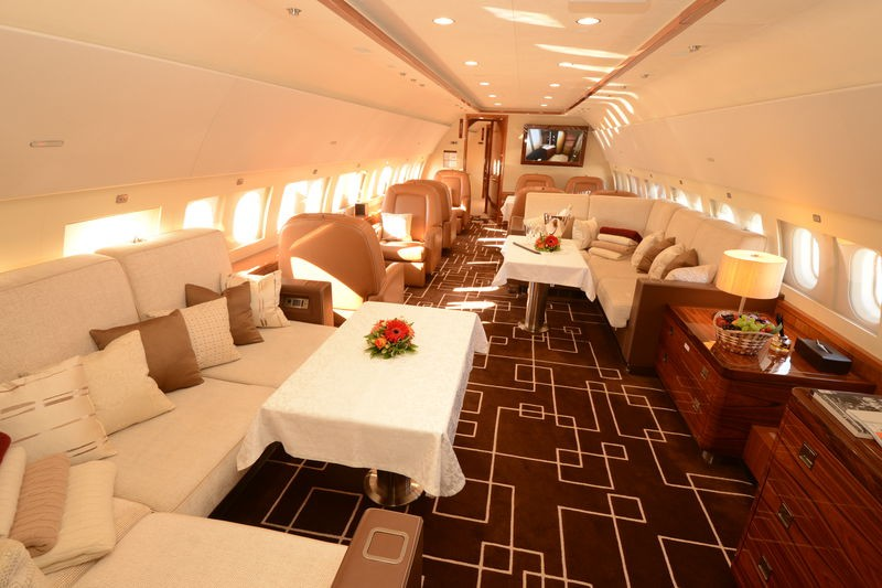 Airbus ACJ319 demonstrates widest cabin of any business jet