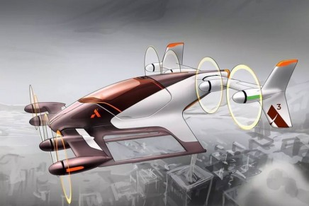 The Airbus Group's Project Vahana flying car concept