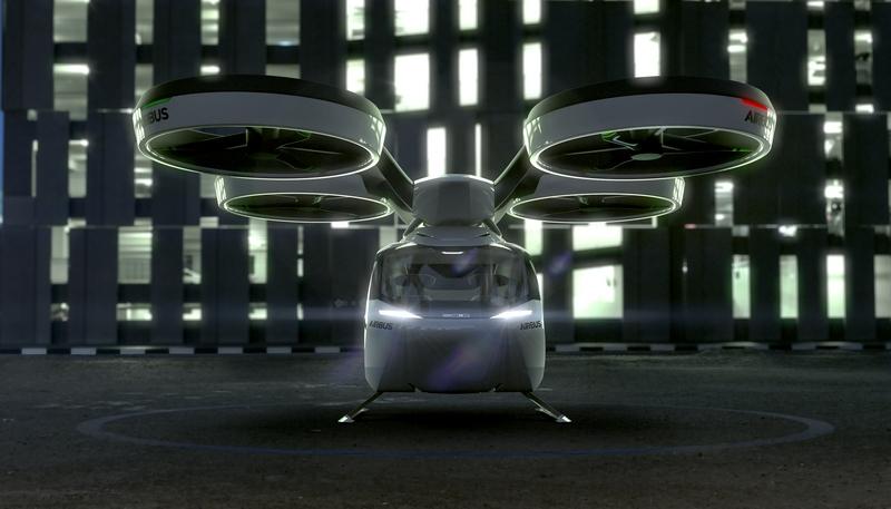 Airbus Italdesign popup photos