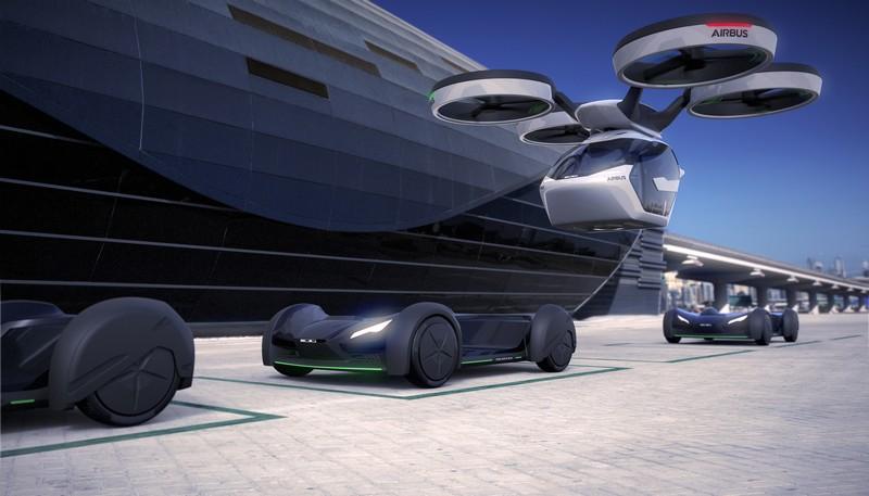 Airbus Italdesign popup renderings