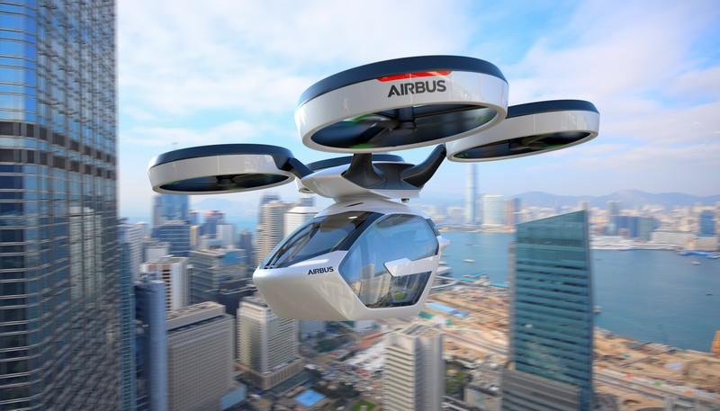 Airbus Italdesign popup system
