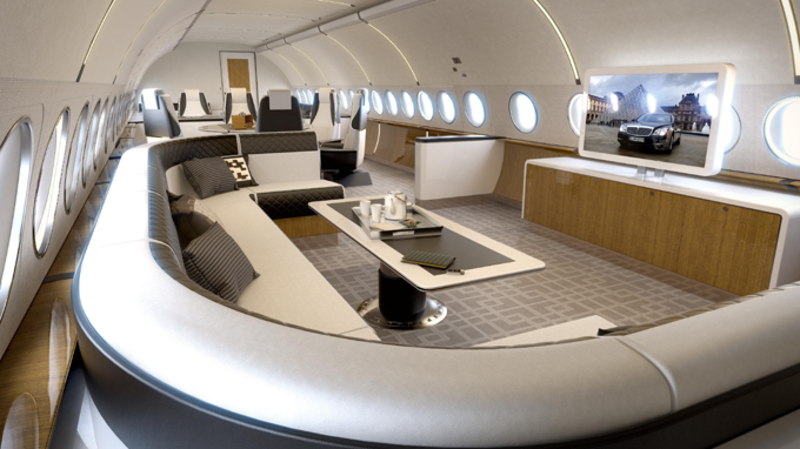 Airbus - Melody cabin concept for the ACJ320neo Family