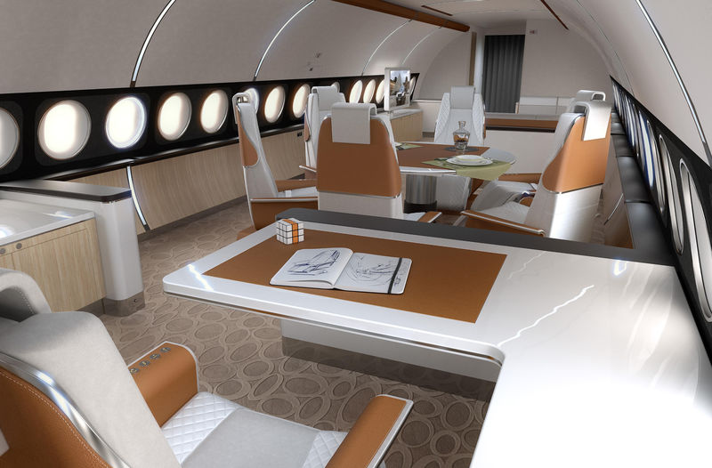 Airbus has launched a new version of its popular corporate jet, the ACJ319