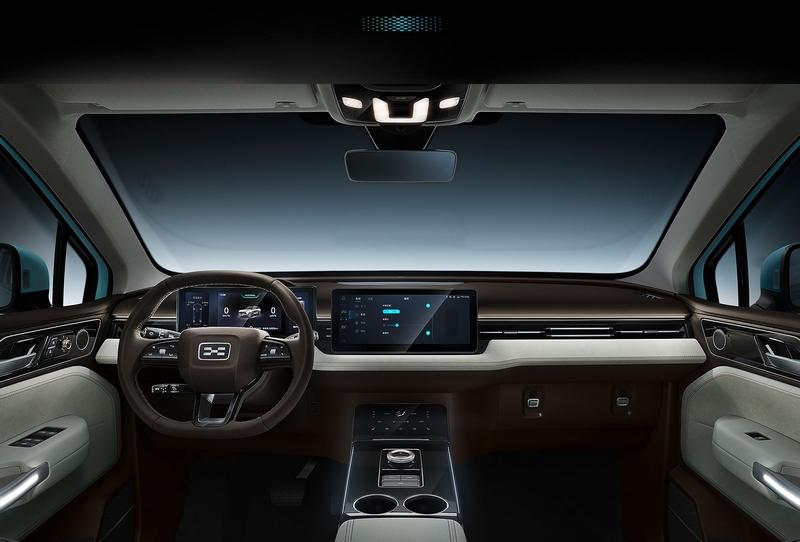 Aiways U5 - Immersive AI Smart Cabin
