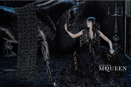 Wild and romantic beauty. Alexander McQueen 2014 fall campaign
