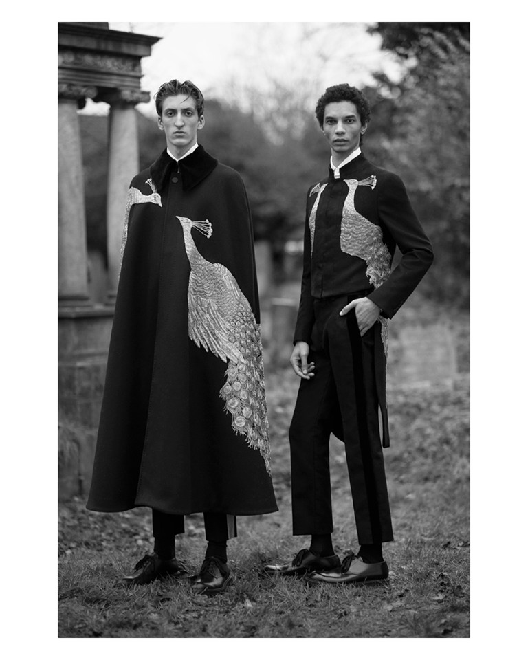 Alexander McQueen Autumn - Winter 2017 Menwear