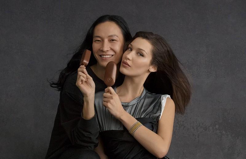 Alexander Wang and Bella Hadid unveil exclusive ice-cream cooler bag-