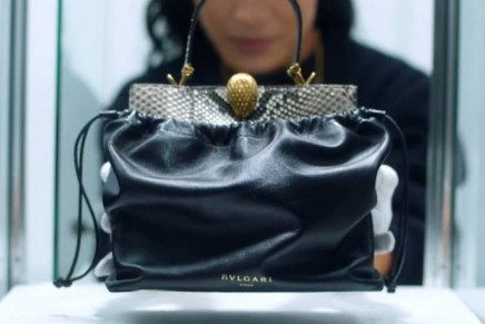 Bulgari took the iconic Serpenti design and gave it the Alexander Wang spin