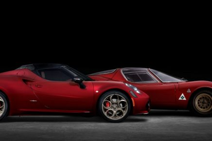 2020 Alfa Romeo 4C Spider 33 Stradale Tributo marks the final production run of the 4C Spider for North America