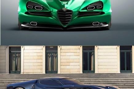 Montreal Vision GT, Luca Serafini's futuristic take on the old-school Alfa Romeo Montreal