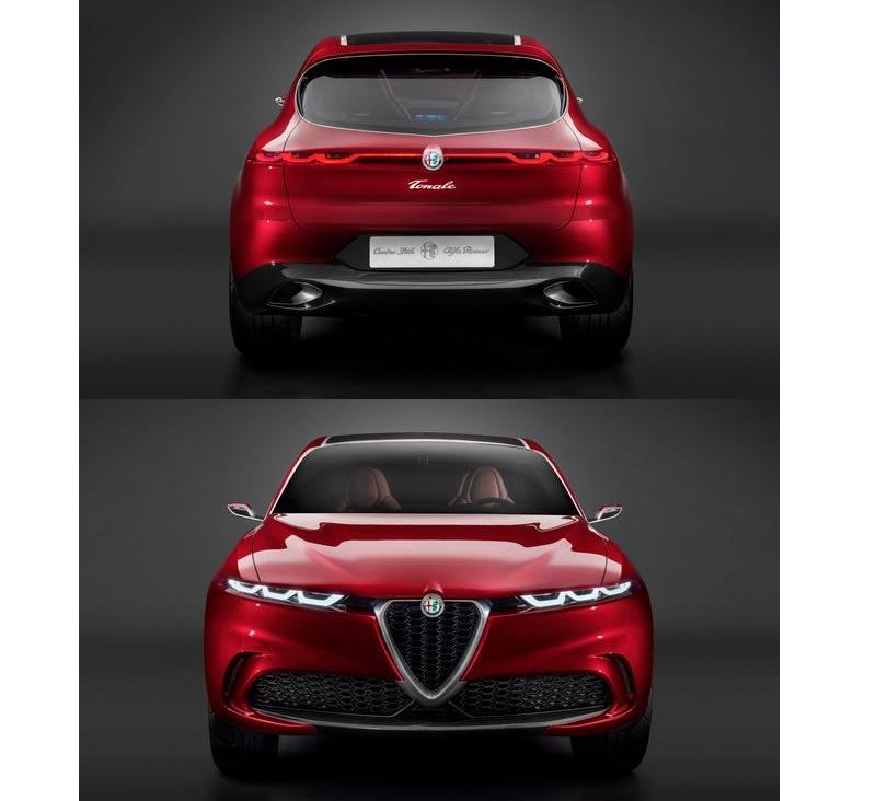 Alfa Romeo Tonale Concept Car - 2019-