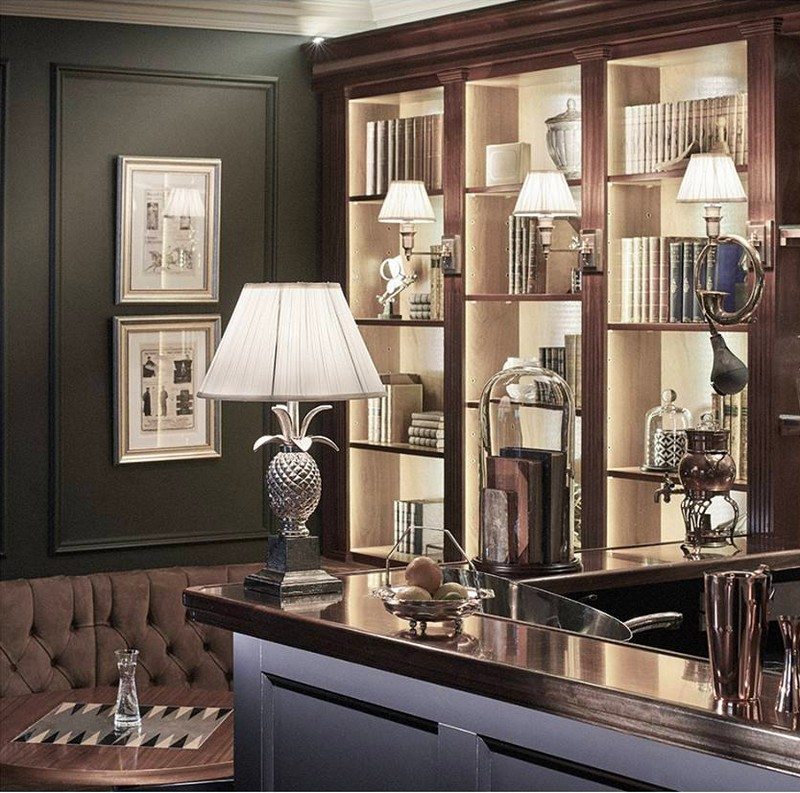 Alfie's Bar, the latest addition to dunhill's London home at Bourdon House