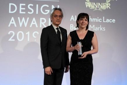 Algorithmic Lace bespoke bra for breast cancer survivors wins the 2019 Lexus Design Award