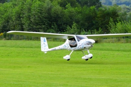 A glimpse of what Pipistrel Aircraft hopes is the future of flight