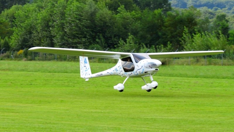 Alpha Electro is a new 2-seat electric trainer and the greenest way of learning to fly