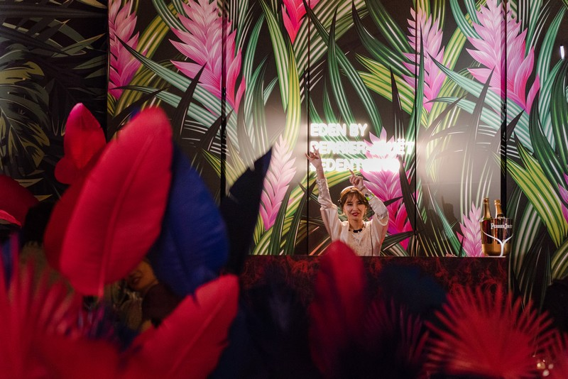 Alyn DJ at Eden by Perrier-Jouët in Tokyo
