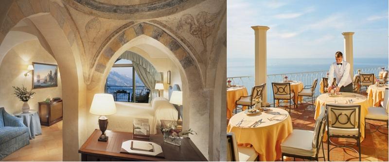 Amalfi Coast Hotel Caruso