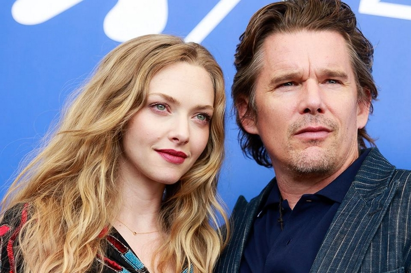 Amanda Seyfried and Ethan Hawke, protagonists of First Reformed