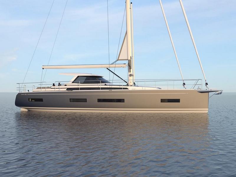 Amel 50 Yacht 2017--