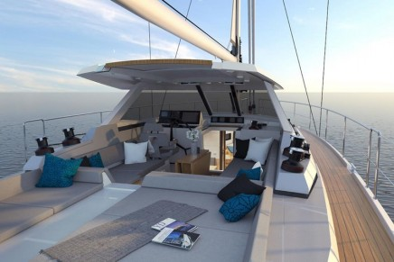 Designed to sail around the world: the new Amel 50 from Les Chantiers Amel