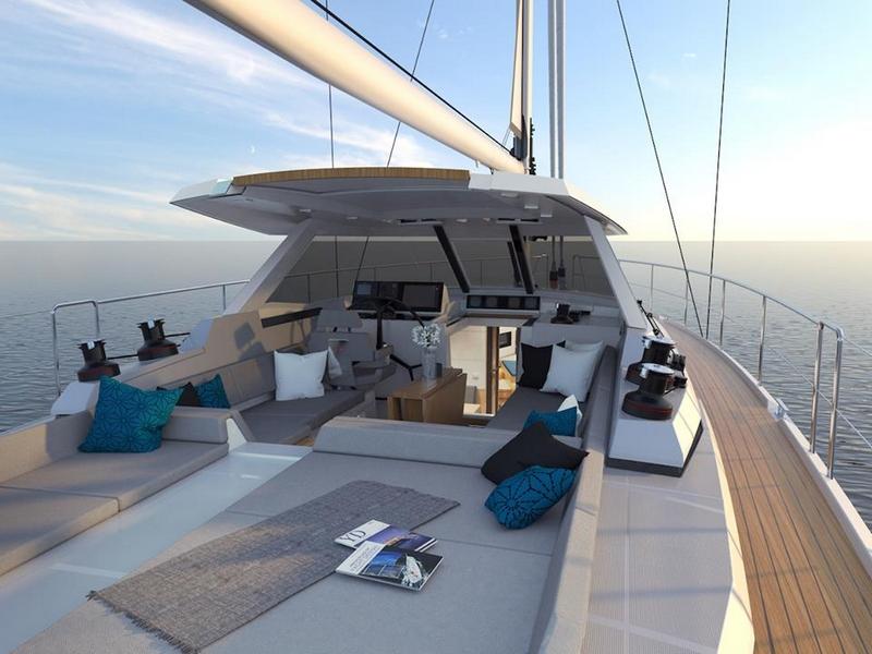 Amel 50 Yacht 2017 - exterior