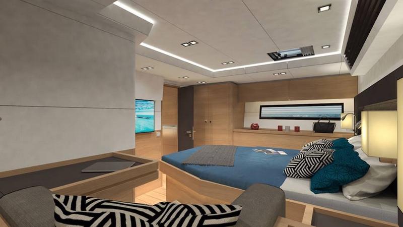 Amel 50 Yacht 2017 - interior-