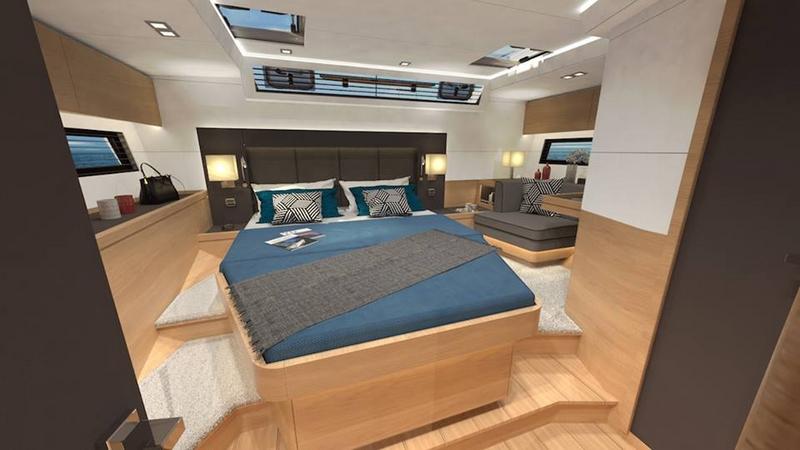 Amel 50 Yacht 2017 - interior cabin