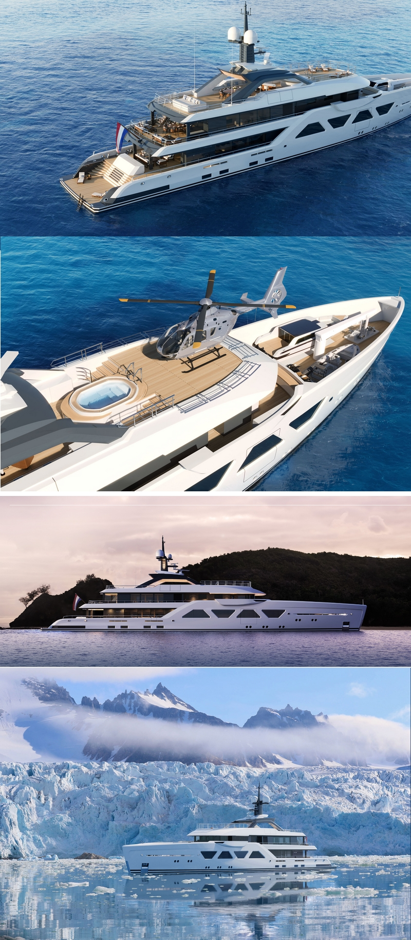 Amels Yachts Amels 60 - an exciting new take on the very best Amels knowhow and craftsmanship.