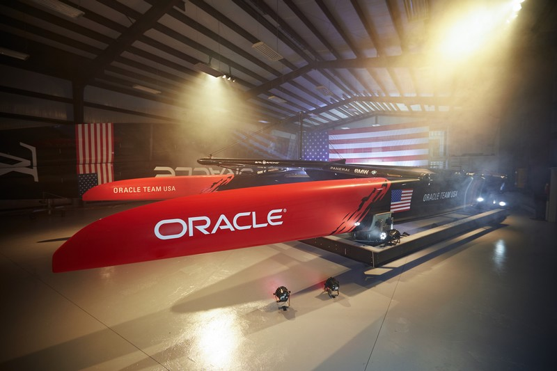 America's Cup class yacht achieves speeds of up to 100 kmh