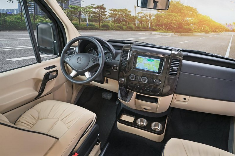 American Patriot, a luxury Class B motorhome, joins American Coach family-interior