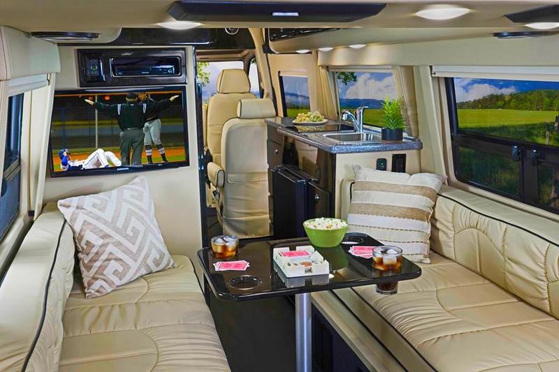 American Patriot, a luxury Class B motorhome, joins American Coach family-premium interior