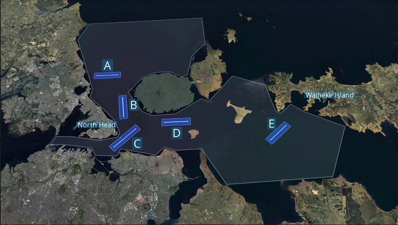 America's Cup Course Map Stills