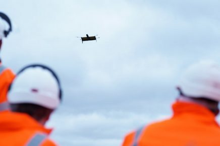 VTOL flying wing is now surveying 2 km autonomously and out of the sight of the pilot