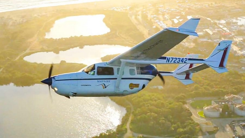 Ampaire The largest hybrid-electric aircraft flying today-