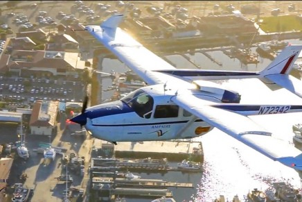 The largest hybrid-electric aircraft flying today