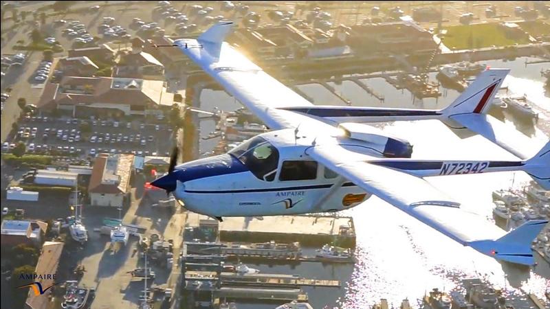 Ampaire aircraft flight