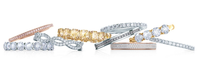 An elegant collection of classic wedding bands