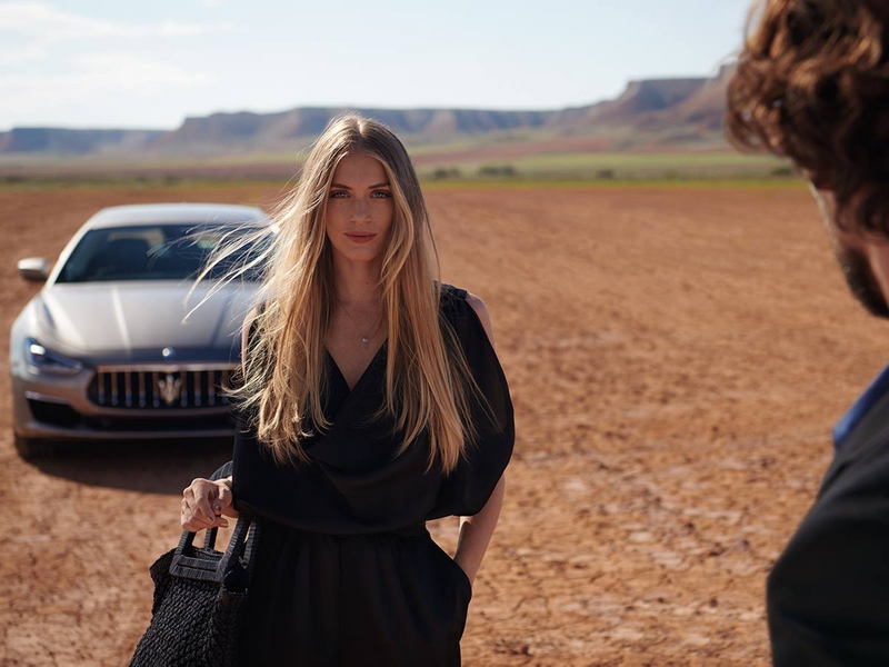 An encounter that is impossible to forget - Maserati Ghibli
