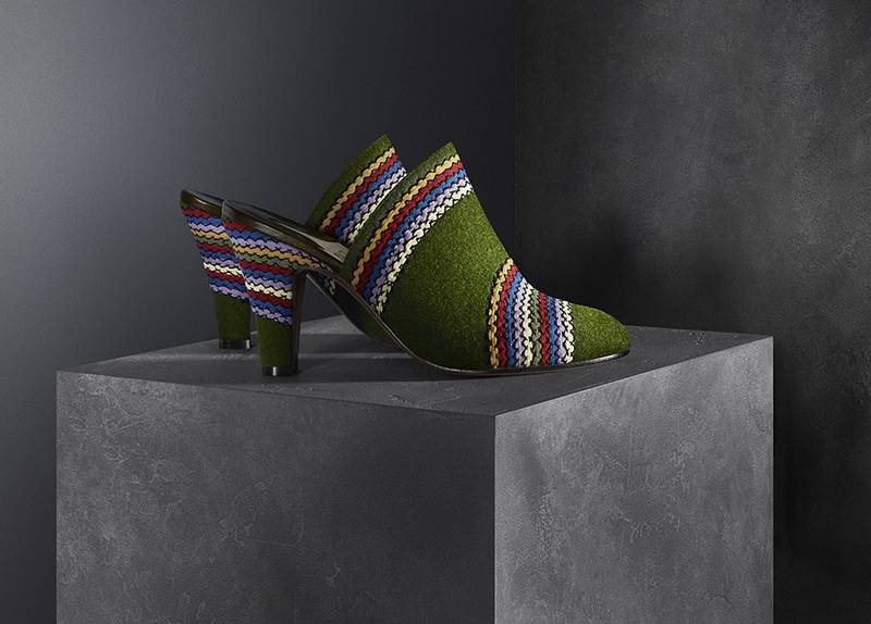 An exclusive collection of five shoes based on the original patents of Salvatore Ferragamo created between the thirties