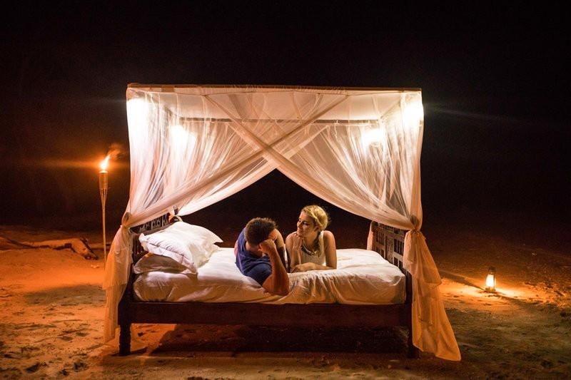Anantara Medjumbe Island Resort photos-star bed experience