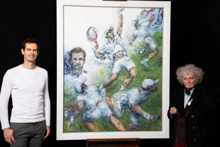 Andy Murray portrait by Maggi Hambling to go on show in London