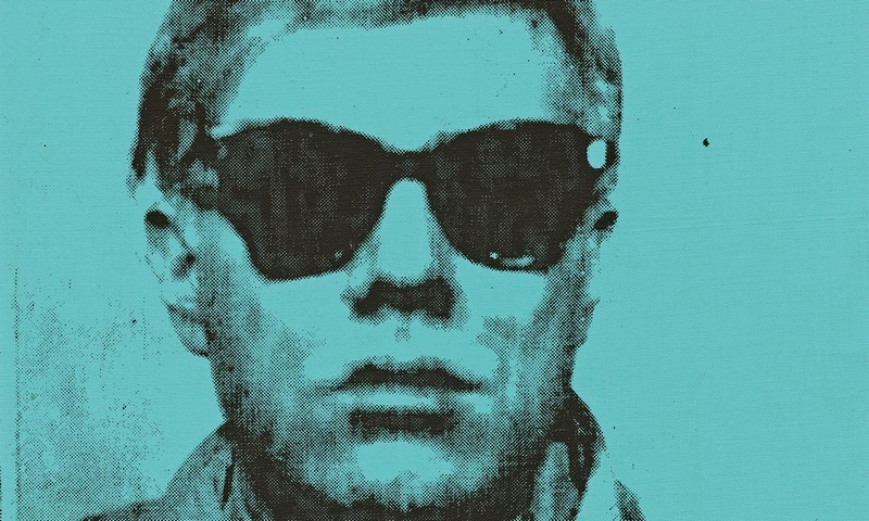 Andy Warhol selfie at auction at Sotheby's London