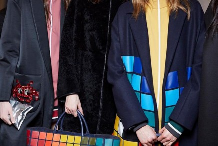 It's handbags: accessory labels do battle at London fashion week