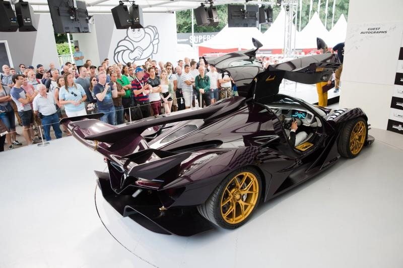 Apollo Intensa Emozione for Michelin Supercar Paddock at 2019 Goodwood-