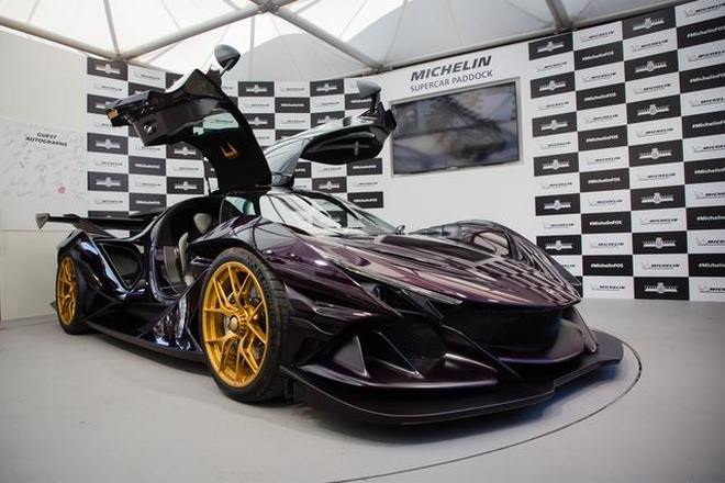 Apollo Intensa Emozione for Michelin Supercar Paddock at 2019 Goodwood