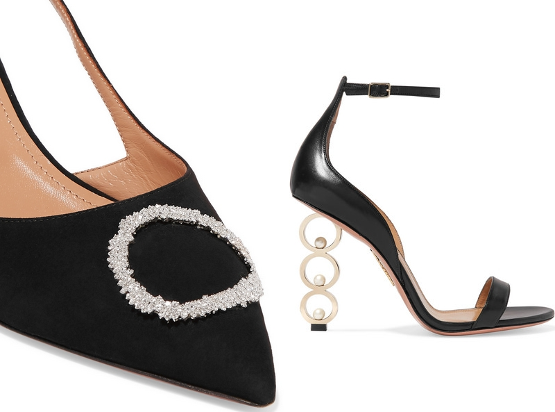 Aquazzura collaborated with five fine jewelry designers for an exclusive Net-a-Porter capsule