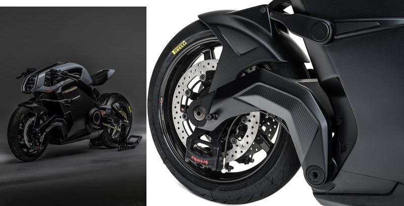 ArcVector motorcycle-