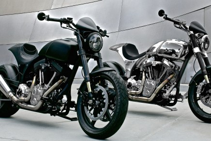 Unequivocally sporty Arch KRGT-1 – Keanu Reeves' first motorcycle