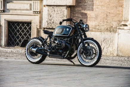 The minimalist racing style machine: Ares Design for the BMW R nineT for those with an appetite for retro styling
